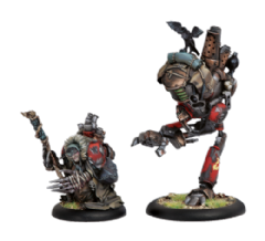 Khador Old Witch & Scrapjack (2)